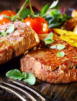 Steak and Seafood restaurants near Pine Knot Guest Ranch in Big Bear Lake, CA