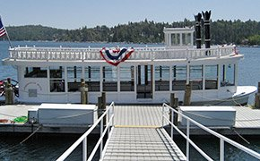 Lake Arrowhead Queen Guided Boat Tour in California