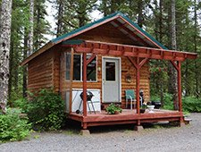 Black Bear Cabin at Bears Dens Cabins in Cordova Alaska