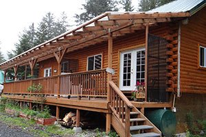 Polar Bear Cabin at Bears Den Cabins in Cordova, Alaska