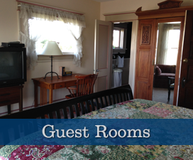 Guest Rooms at Glenacre Historic Inn