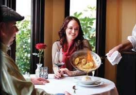Madeline's Restaurant near White Water Inn in Cambria, CA