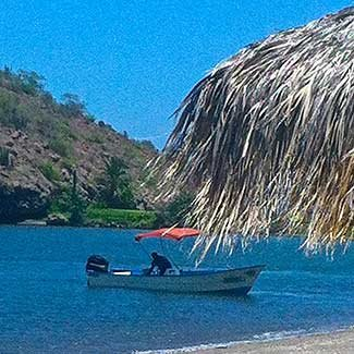 Boating near Loreto Paradise Properties in Mexico