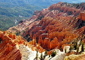 Cedar Breaks National Monument near Canyon Lodge Motel in Panguitch, UT Photo by Belle Unruh