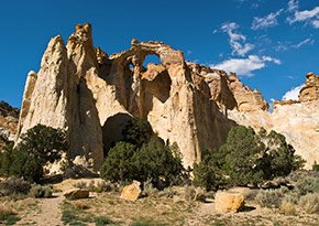 Grand Staircase Escalante National Monument near Canyon Lodge Motel in Panguitch, UT