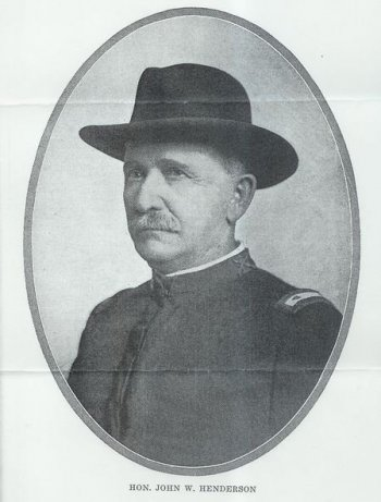 John W. Henderson of the Spanish-American War, owner of Columns of Tunica