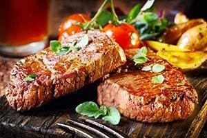 steak near Columns of Tunica in MS