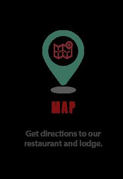 Map of PJ's Lodge in Norfork, Arkansas
