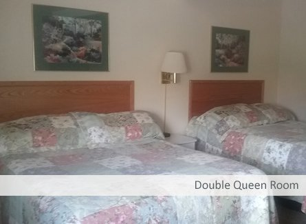 Double Queen Room at Temple View Lodge