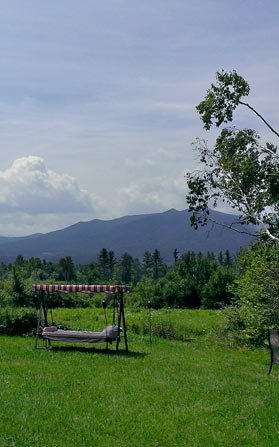 View at Applebrook Bed and Breakfast in Jefferson, NH