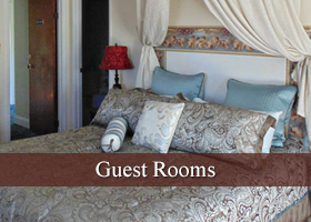Guest Rooms at Plantation Bed and Breakfast in Lemon Cove, California
