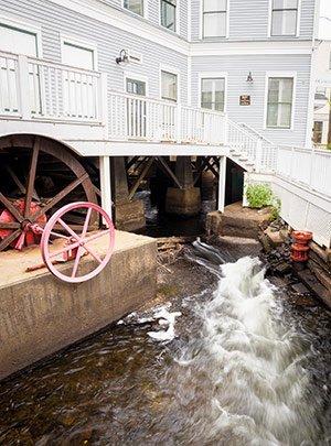 Inn at Camden Place Water Wheel