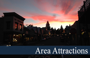 Area Attractions at Madison House B&B in Nevada City, CA