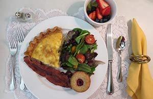Breakfast at Madison House B&B in Nevada City, CA