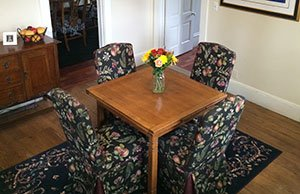 Dining Room at Madison House B&B in Nevada City, CA