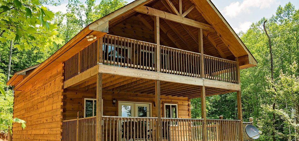 Smoky Mountains Cabin Vacation Rental Log Cabin In Smoky Mountain