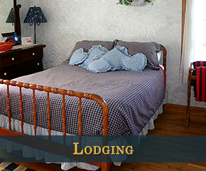 Lodging at Country Pleasures B&B in Cashton, Wisconsin