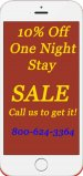 Single Night Sale 2017 at our website