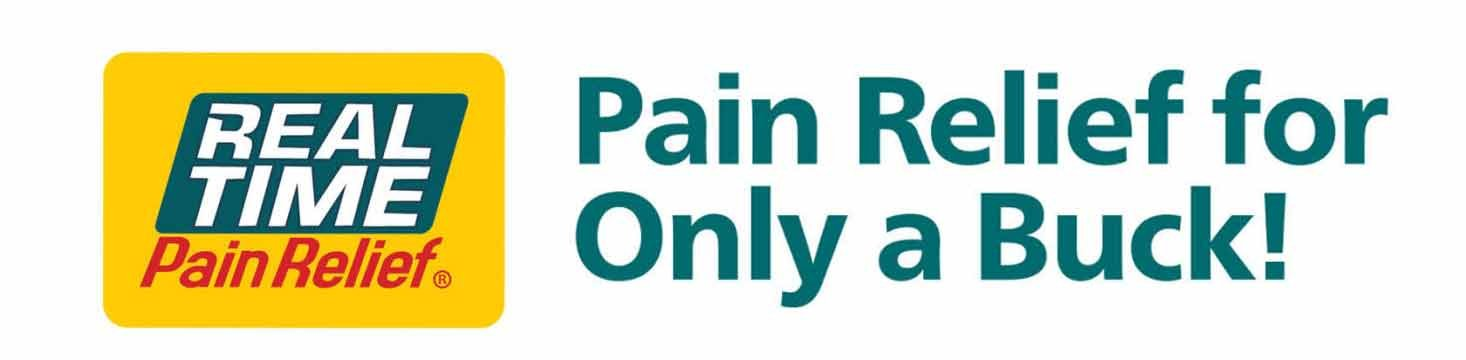 real time pain relief for only a buck!