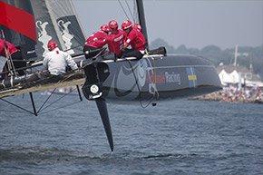 Catamaran Racing by Simeon Potter House