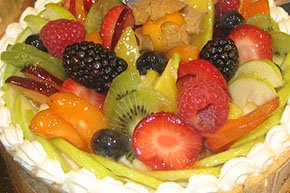 Fruit Torte at Simeon Potter House