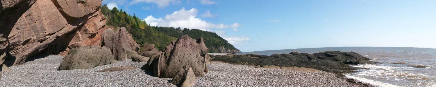 Bay of Fundy near Delft Haus Photo by Jaroslaw Binczarowski