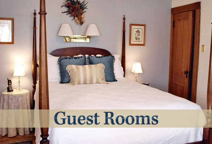 Guest Rooms at Delft Haus B&B in Centreville, Nova Scotia Canada