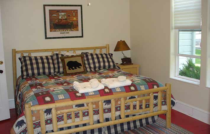 Guest Rooms at The Bluebird Inn in Fish Haven, Idaho