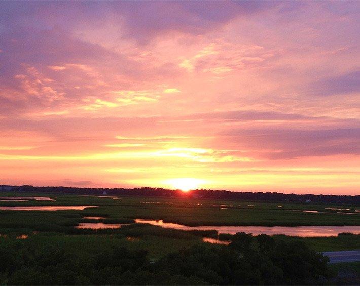 sunset at sunset inn