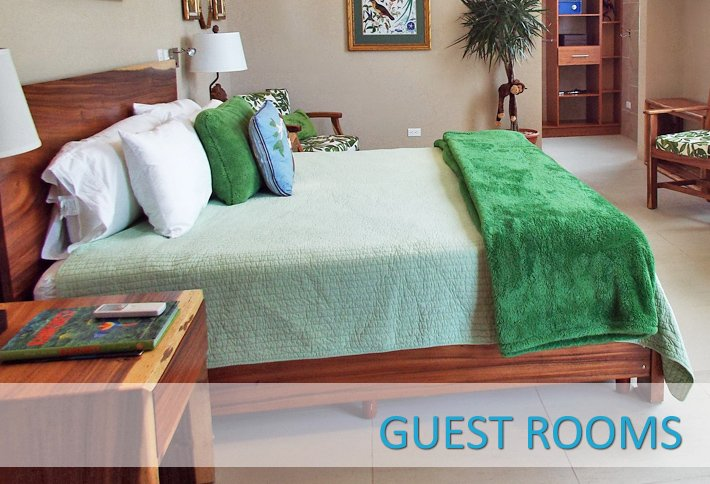 Guest Rooms at La Gaviota Tropical in Costa Rica