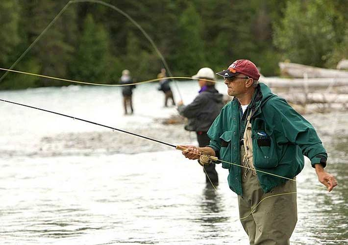 Fly Fishing at Paradise Gateway in Montana