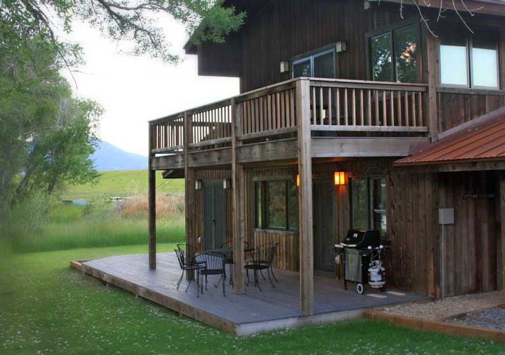 River Bend Trout House at Paradise Gateway in Emigrant, Montana