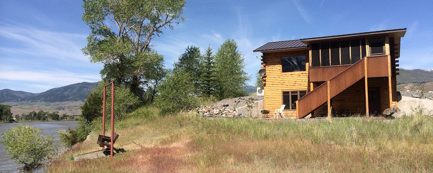 n front porch homeaway yellowstone of cabins from peak affordable emigrant basecamp your vacation amazing rental for views