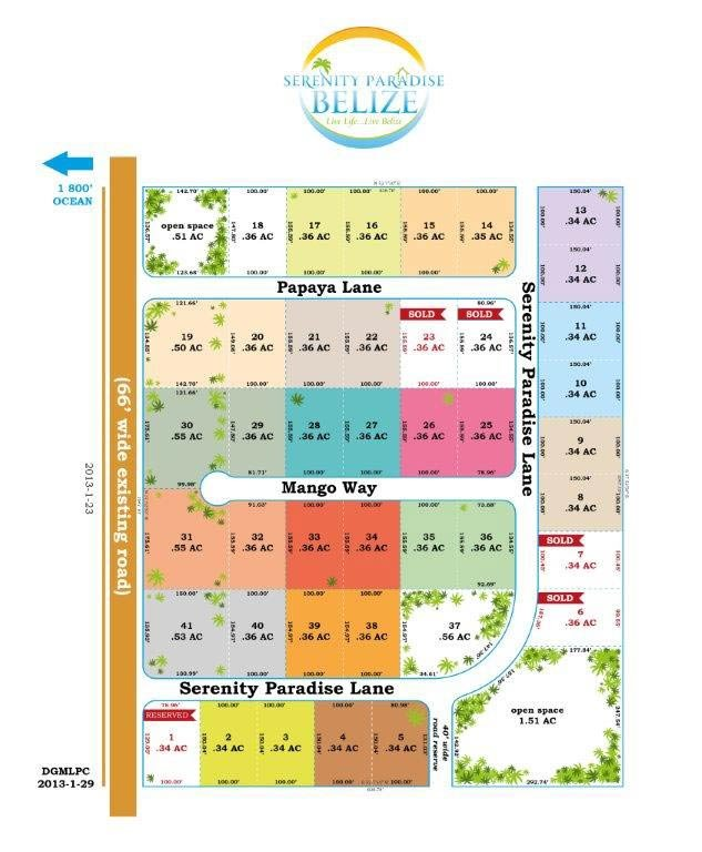Residential Lots in Belize