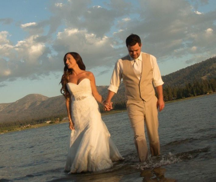 Wedding at Gold Mountain Manor in Big Bear Lake California