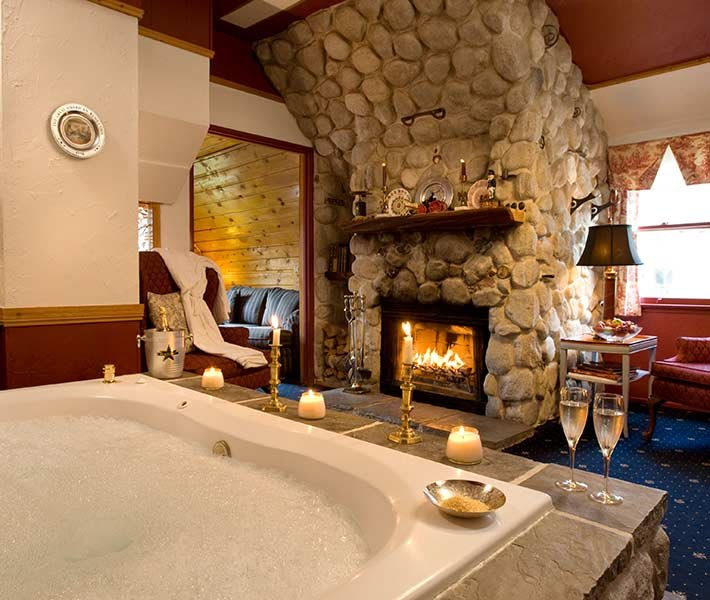 Presidential Suite at Gold Mountain Manor in Big Bear Lake California
