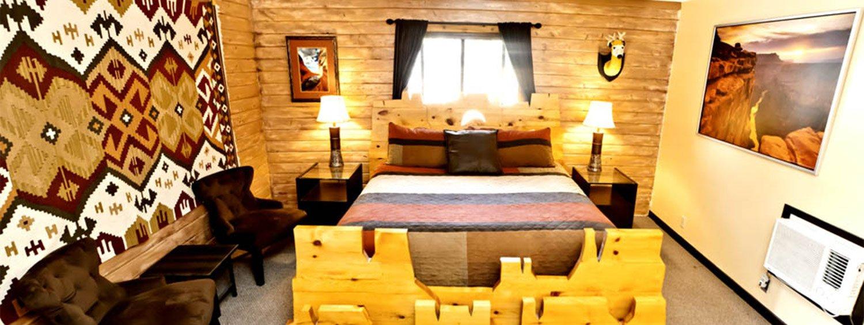 Deluxe King Mesa Room Kanab Lodging Canyons Lodge