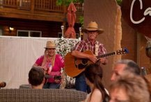 living music at the Canyons Lodge