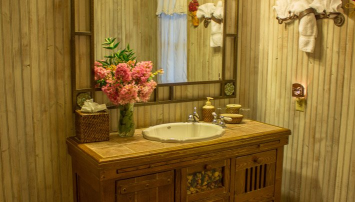 Bathroom Tumble Weed Adobe Village Graham Inn