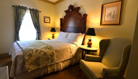 Room at Alexander House in Saratoga Springs, NY