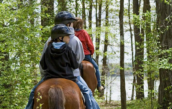 horseback riding near Pipestem campgrounds in WV
