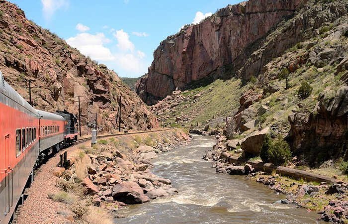 Royal Gorge Train Rides Colorado