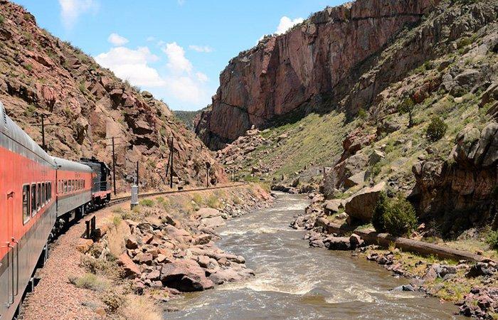 Royal Gorge Train Rides Colorado