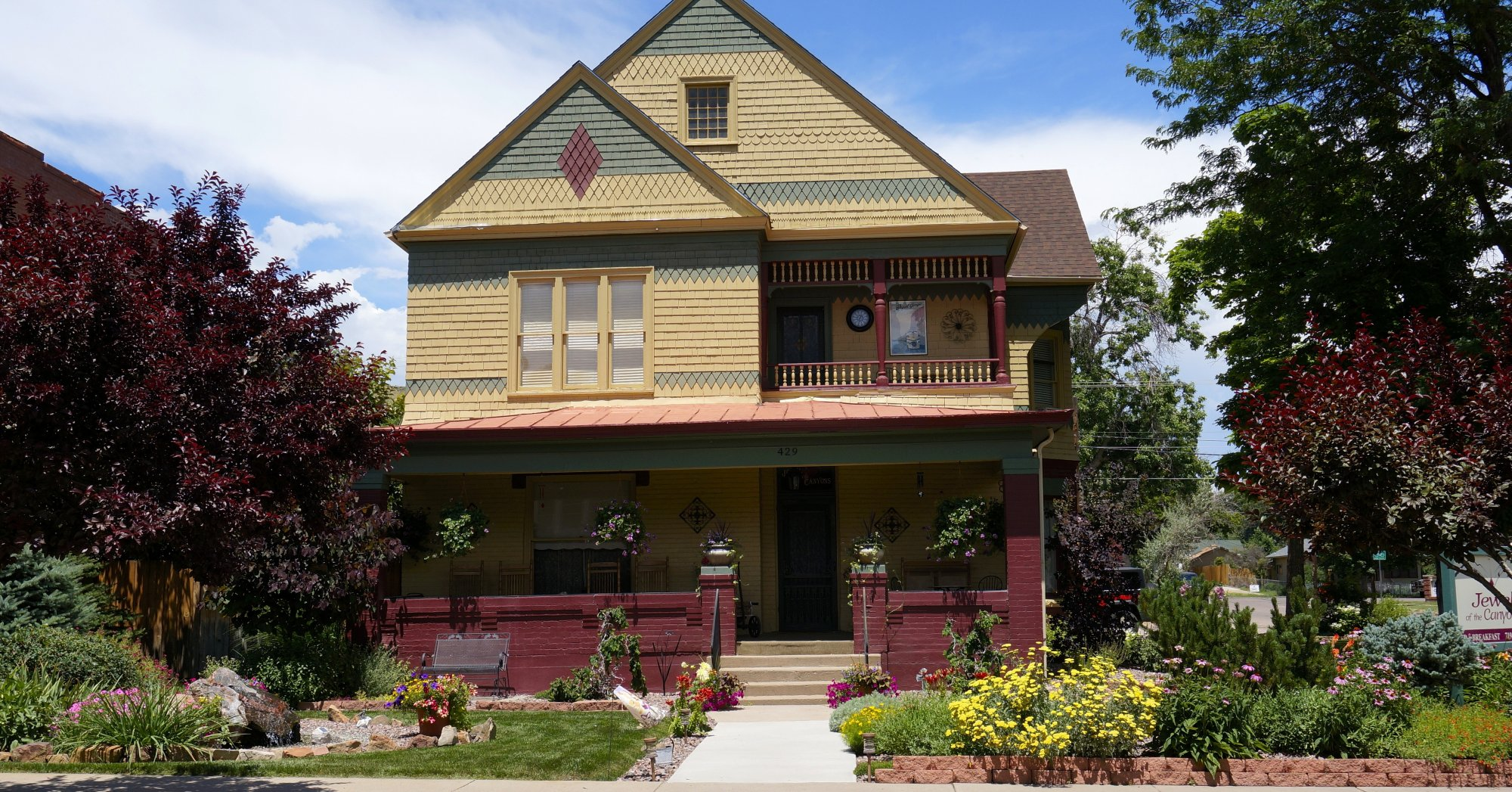 jewel of the canyons bed and breakfast inn | canon city, colorado