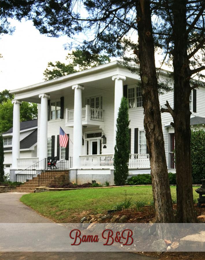 Bama B&B Campus Location in Tuscaloosa, Alabama