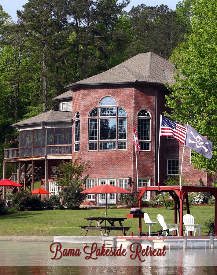 Bama B&B Lakeside Location in Tuscaloosa, Alabama