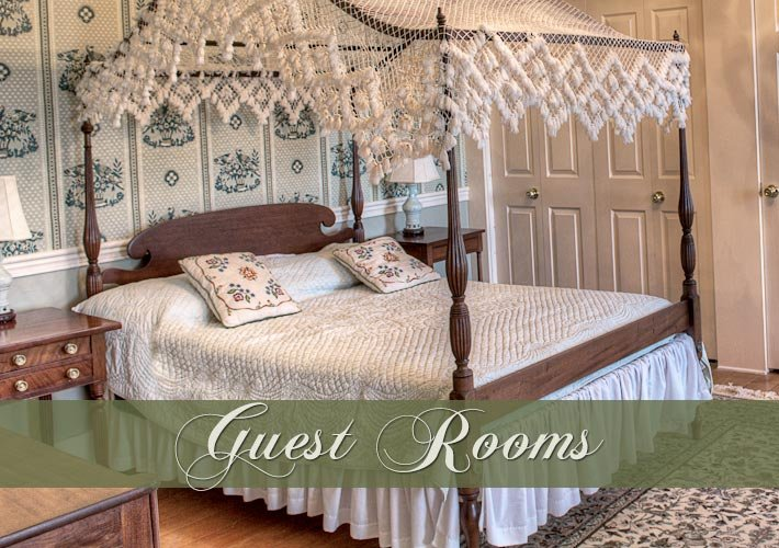 Guest Rooms at Emma's Bed and Breakfast in Springfield, Ohio