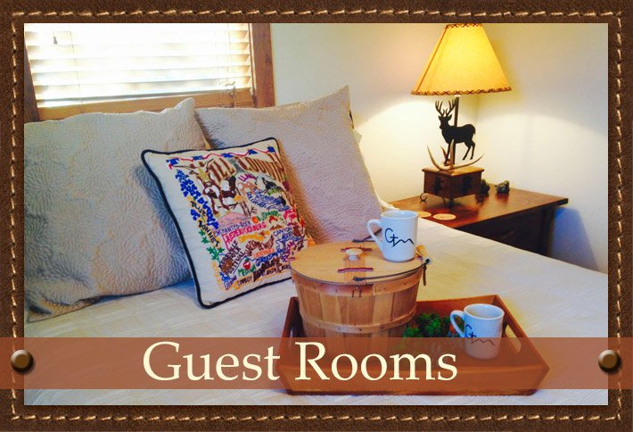 Guest Rooms at Glory Hills Ranch in Pipe Creek, TX