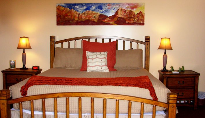 The Watchman Room at Harvest House Bed & Breakfast in Springdale, Utah