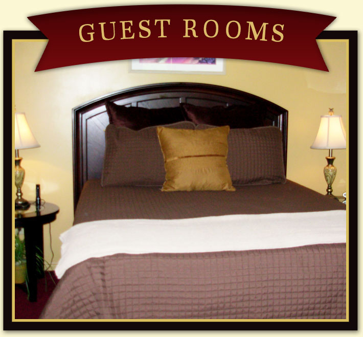 Guest Rooms at Harvest House B&B in Springdale, Utah